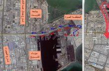 الإدارة العامة للمرور: افتتاح جسر طريق الغزالي فجر غد الجمعة