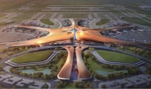 فيديو| يخدم 72 مليون مسافر.. الصين تستعد لافتتاح أكبر مطار في العالم