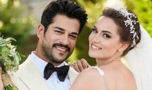فهرية إفجين تحتفل مع بوراك أوزجيفيت بعيد زواجهما…وهذه رسالتها!