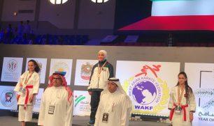 الكويتية #منى_محمد_القطان تنتزع الميدالية الذهبية في بداية مشوارها ببطولة غرب آسيا