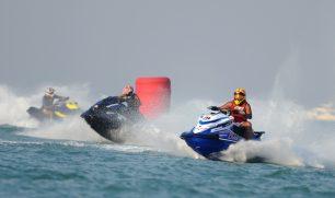 #النخبة  متسابقون واعدون بختام الجولة الثانية لسباق الكويت للدراجات المائية 2019