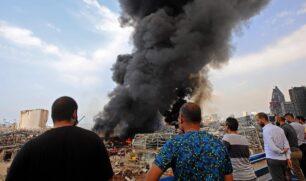 اخماد حريق مرفأ بيروت بعد 20 ساعة على اندلاعه