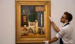 """""""درس القرآن"""".. سر بيع لوحة بـ 4.5 مليون جنيه إسترليني في لندن"""
