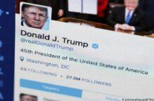 تويتر تضع علامة تحذير على تغريدة لترامب