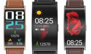 """""""ماكيبس"""" تطلق ساعة ذكية بشاشة منحنية"""