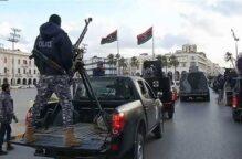 اشتباكات بالأسلحة الثقيلة بين ميليشيات #الوفاق في #ليبيا