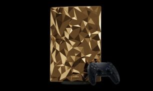 كافيار تطلق إصداراً ذهبياً من بلاي ستيشن 5