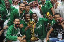 منتخب السعودية يفوز على الكويت ويتوج ببطولة الخليج ال 16 لكرة السلة