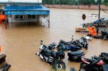 مقتل 59 شخصا في فيضانات وانهيارات ارضية شمال شرقي الهند
