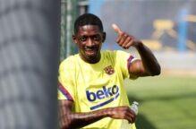 بعد غياب 290 يوماً.. ديمبلي يعود للظهور مع برشلونة