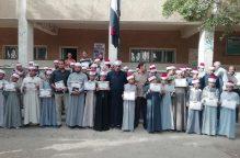 معهد #الغنايم الأزهري يكرم طلبته المتميزين