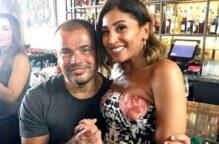 شهر انفصال الفنانين … هل مصير عمرو دياب ودينا الشربيني مثله تامر حسني وزوجته ؟