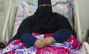 فيديو.. ممرضة سعودية وزنها 220 كغم تناشد الملك وولي العهد وأهل الخير إنقاذها