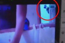 بالفيديو.. مفاجأة مخيفة لأم في غرفة نوم طفلها