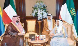 الأمير تلقى رسالة شفوية من خادم الحرمين حول تعزيز العلاقات الأخوية