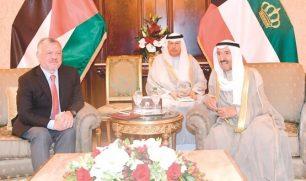 الأمير بحث مع العاهل الأردني القضايا المشتركة ودعم وحدة الصف