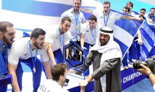 اليونان تتوج بلقب بطولة العالم لكرة الماء للشباب في الكويت