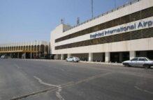 سقوط ثلاثة صواريخ بالقرب من مطار بغداد الدولي