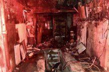 #النخبة| 4 فرق إطفاء تسيطر على حريق منزل في جليب الشيوخ