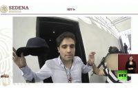 """القوات الأمنية المكسيكية تنشر فيديو يوثق لحظة إعتقال نجل إمبراطور المخدرات """"ال تشابو"""""""
