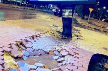 خسائر بالغة في سراديب المنازل وازدحام بالشوارع وتعطل المركبات