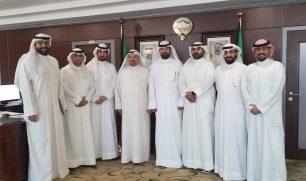 الأمين العام للمجلس الأعلى للتخطيط د.خالد مهدي يلتقي رئيس و أعضاء مجلس إدارة الجمعية الكويتية للدفاع عن المال العام