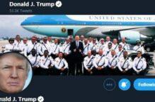«تويتر» يحذف صورة نشرها ترامب.. لانتهاكه الملكية الفكرية