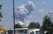 تركيا: انفجارات ضخمة في مصنع للألعاب النارية