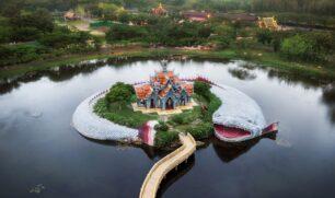 موانج بوران أكبر متحف في الهواء الطلق في الكوكب