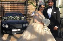ديانا كرزون عروس بحفل خاص جداً