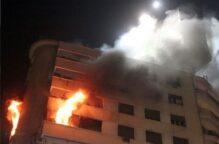 شاب مصري يدفع حياته ثمناً لإنقاذ والدته من حريق شقتهم