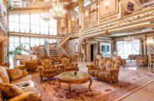 في روسيا.. قصر من الذهب للبيع بسعر زهيد