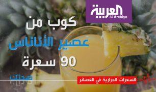 الافراط في شرب عصير الفاكهة مضر عند الافطار